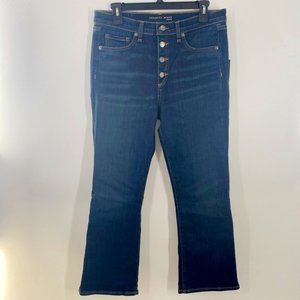 Veronica Beard Carolyn High Baby Boot Cut Jeans